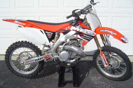 Aluminum Frame Conversions for Modern Two Strokes